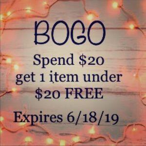 BOGO Special! Limited Time!